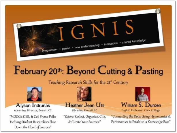 IGNIS - Beyond Cutting & Pasting Promo