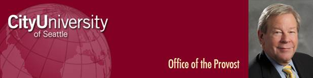 City University Office of the Provost