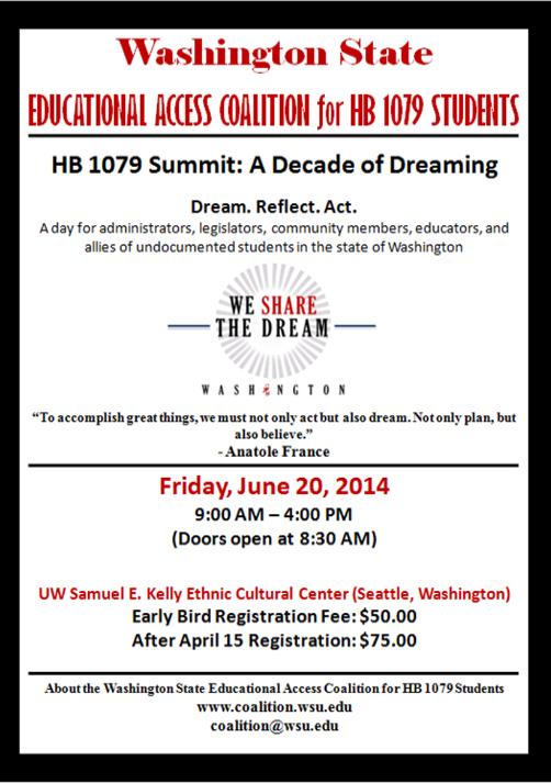 HB 1079 Summit