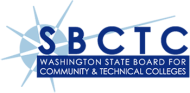 Washington State Board for Community and Technical Colleges starburst logo