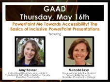 IGNIS Intro 2019 PowerPoint Me Towards Accessibility! The Basics of Inclusive PowerPoint Presentations - Amy Rovner and Mirand Levy 051619